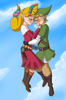 Link×Zelda by juanito316ss