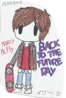 Marty Mcfly by Merlinathecat