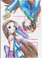 PL-loids: Ruru and Kitaro by hewhowalksdeath