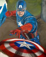 Avengers Captain America by solisthe1
