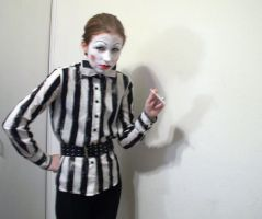 EVIL FRENCH CLOWN RUN by Sinned-angel-stock