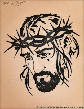 Jesus by hassified