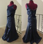 1930's French Evening Gown by Nerds-and-Corsets