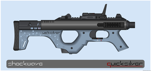 Quicksilver Industries: 'Thylacine' Shotgun by Shockwave9001