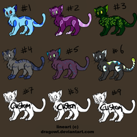 Point Adoptables (9/9) OPEN by AStolenRelic