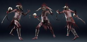 Witch Doctor Character Model by MarkVano