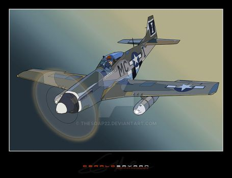 The P51 Mustang by TheSOAP22