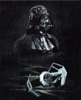 Man and Machine IV: Vader by solman1