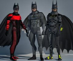 Batman bundle 2nd skin textures for M4 by hiram67