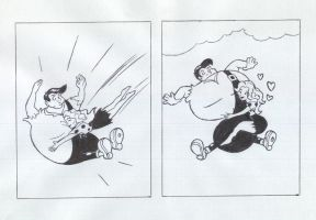 Lil Abner Comic page 2 of 2 by pballooned