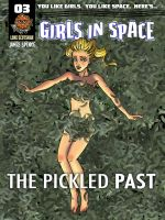 Cover to Girls in Space #03 by Spencey