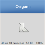 Origami Tango Icon by vicing