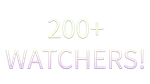 200+ Watchers! by IchiLewis