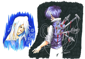 Copic Doodles by MidoriLied