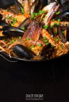 Spicy Seafood Paella by DulcetEpicure
