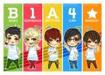 B1A4 Sprouty Bookmarks by Jean-chan