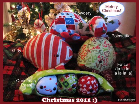 Christmas Plush 2011 by blushplush