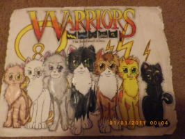 Warrior Cats by theanimemaster2