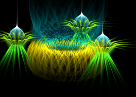greenyellow lighting forms by Andrea1981G