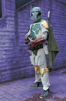Boba Fett at Ropecon 2012 by J-Kameko