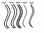 How to draw braids TUTORIAL by Sonyasworlds