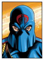 Cobra Commander Colors by gravyboy