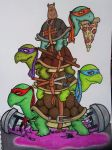 Turtles by KandyPandaz