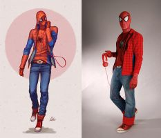 Casual Spidey by SpenceOlson