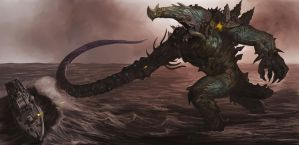 My Kaiju by Davesrightmind