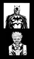 Batman Joker by 6nailbomb9