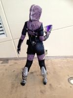 Tali'Zorah 2.0 at Gold Coast Supanova 2013 (2) by JuuriCostumes