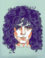 Marc Bolan by ZipDrumBoogie