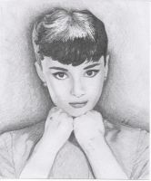 Audrey Hepburn Request by wolf2307