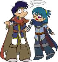 Ike fights for his friends...? by Chloemew4ever