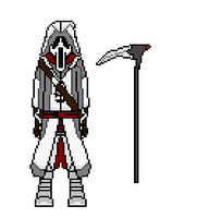My assassin in pixel by YUCK365
