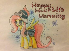 Happy Hearth's Warming by theoddlydifferentone