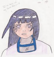 Hinata: colored by AnimeAnimalLover101