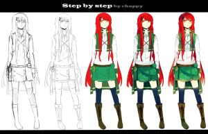 Step by step by Black-chappy