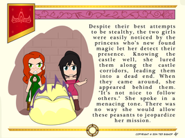 Another Princess Story - Cornering by Dragon-FangX
