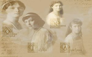 The Four Duchess of Russia by TitanicPhan