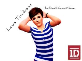 Louis Tomlinson by TheSims3KawaiiMaker