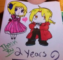 Happy 2 year anniversary!! by jt0002