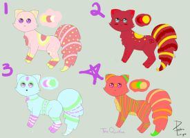 Nyan-Adopts Batch 2 by PandoraTwilight