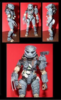 Custom Predator Figure by MildArtAttack