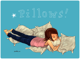 Old: Pillows by ah-bao