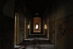 Abandoned Building 005 by danf83stock