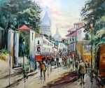 Montmartre colours by ricardomassucatto