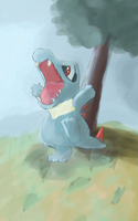 totodile by schultz94