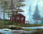 House in the wood by TeleGabor