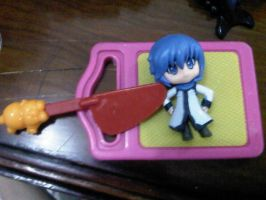 gonna cut Kaito by margarethere